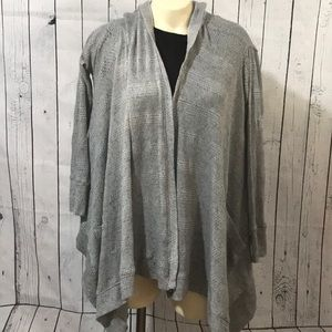 American Eagle open front hooded cardigan loose